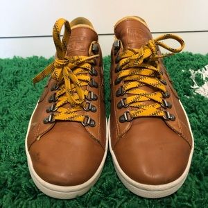 Converse Shoes - converse undefeated one star pro leather ox yellow